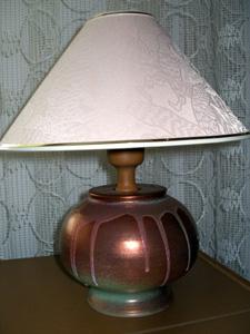 Keramické stolní lampy